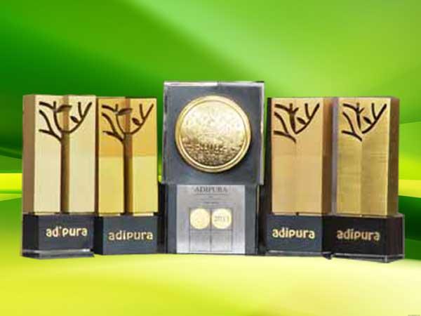 Adipura trophies