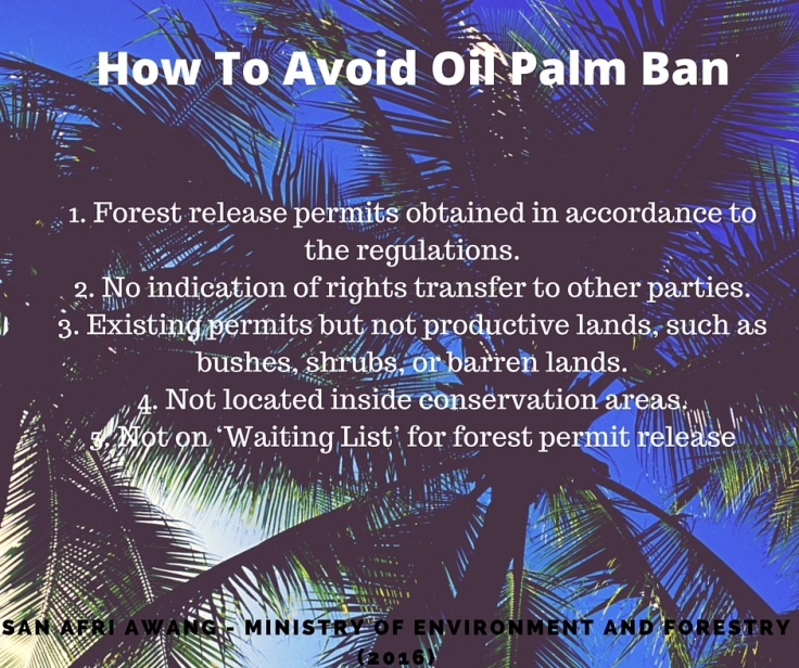 How To Avoid Oil Palm Ban